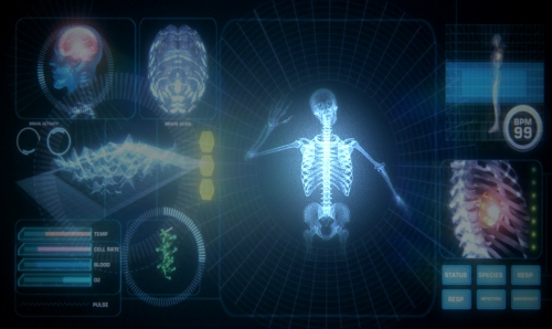 Framestore Digital's Interactive medical scanner for Secret cinema
