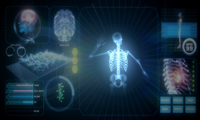 Framestore Digital's Interactive medical scanner for Secret cinema