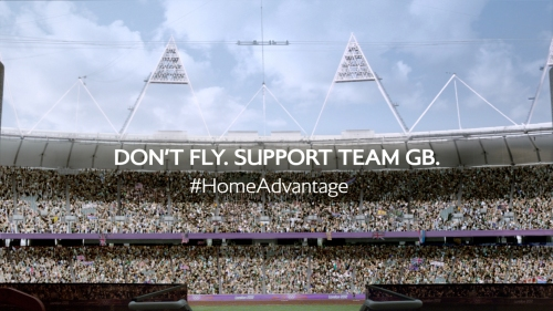 Don't fly, support Team GB